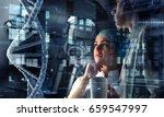 innovative technologies in...   Shutterstock . vector #659547997