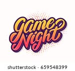 game night banner. | Shutterstock .eps vector #659548399