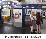 zurich  switzerland    june 03  ... | Shutterstock . vector #659553205