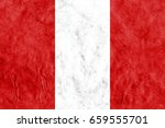 flag of peru | Shutterstock . vector #659555701