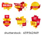 special offer abstract banners  ... | Shutterstock .eps vector #659562469