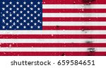 flag of united states | Shutterstock . vector #659584651