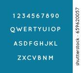 alphabets set vector... | Shutterstock .eps vector #659620057