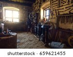 traditional smithy workshop... | Shutterstock . vector #659621455