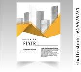 vector   flyer or cover design...   Shutterstock .eps vector #659626261