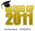 graduation  cap isolated on... | Shutterstock . vector #65962810