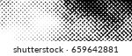 abstract halftone pattern... | Shutterstock .eps vector #659642881
