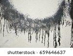graffiti on the wall  texture....   Shutterstock . vector #659646637