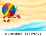 abstract background top view of ... | Shutterstock .eps vector #659696431