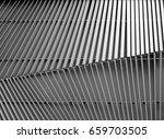 black and white aluminium... | Shutterstock . vector #659703505