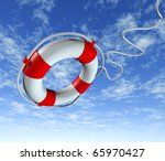 Help Life Preserver Save Belt...