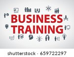 business training vector banner ... | Shutterstock .eps vector #659722297