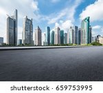 shanghai lujiazui and urban... | Shutterstock . vector #659753995