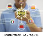 iot  internet of things ... | Shutterstock . vector #659756341