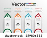 infographics design vector  can ... | Shutterstock .eps vector #659806885