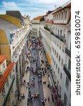 lisbon  portugal   april 25... | Shutterstock . vector #659810074