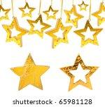 Golden Christmas Stars ...