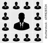 business man icons vector set | Shutterstock .eps vector #659828524
