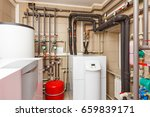 Household Boiler House With...