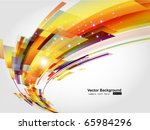 abstract background vector | Shutterstock .eps vector #65984296