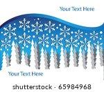 snowy forest | Shutterstock . vector #65984968