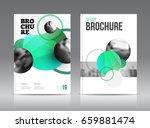 magazine cover layout design...   Shutterstock .eps vector #659881474