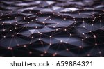 3d illustration  abstract... | Shutterstock . vector #659884321