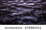 3d illustration  abstract... | Shutterstock . vector #659884321