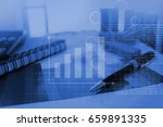 business graph   information... | Shutterstock . vector #659891335