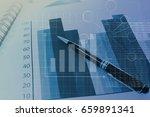 business graph   information... | Shutterstock . vector #659891341