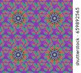 mandala style. vector...   Shutterstock .eps vector #659892565