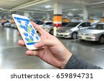 car sharing   pick me up   auto ... | Shutterstock . vector #659894731