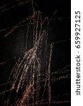 metal texture with scratches... | Shutterstock . vector #659927125