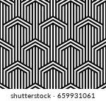 vector seamless pattern. modern ... | Shutterstock .eps vector #659931061