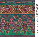 vector seamless pattern for... | Shutterstock .eps vector #659936251