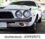 unusual kustom kulture fest car ... | Shutterstock . vector #659939071