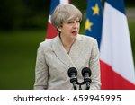 paris  france   june 13  2017   ... | Shutterstock . vector #659945995