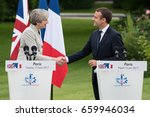 paris  france   june 13  2017   ...   Shutterstock . vector #659946034