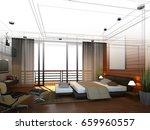 abstract sketch design of...   Shutterstock . vector #659960557