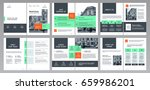 design annual report  cover ...   Shutterstock .eps vector #659986201