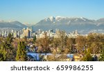 vancouver city   downtown  ... | Shutterstock . vector #659986255