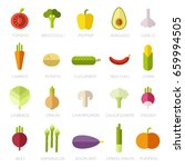 collection of symbols of... | Shutterstock .eps vector #659994505