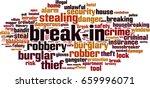break in word cloud concept.... | Shutterstock .eps vector #659996071