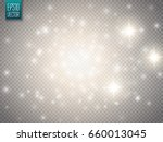 glow light effect. cloud of... | Shutterstock .eps vector #660013045