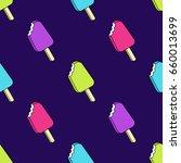 vector trendy seamless pattern...   Shutterstock .eps vector #660013699