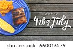 happy 4th of july grilled food... | Shutterstock . vector #660016579