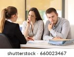 office worker attending and... | Shutterstock . vector #660023467