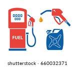 gas pump  nozzle with fuel drop ...