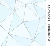 metal polygonal texture with... | Shutterstock .eps vector #660041491