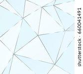 metal polygonal texture with... | Shutterstock .eps vector #660041491